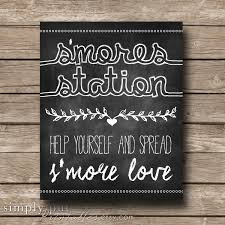 martini bar sign smores bar sign s u0027mores station smore love s u0027more chalkboard