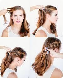 Hochsteckfrisurenen Selber Machen Mittellange Haar Einfach by 100 Hochsteckfrisurenen Selber Machen Feines Haar