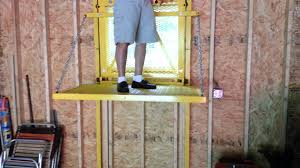 Home Plans With Elevators Barn Elevator Lift Youtube