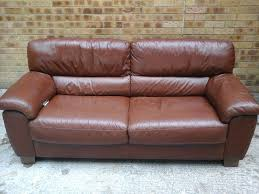 Chestnut Leather Sofa Jh Hicolity 3 2 Seater Chestnut Brown Beautiful Real Leather