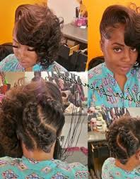 pictures on updo braided hairstyles for blacks curly hairstyles