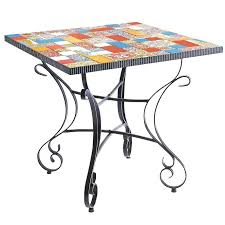 outdoor mosaic accent table mosaic accent table outdoor mafia3 info
