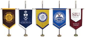 Custom Team Flags Custom Gonfalons For Graduation New England Flag U0026 Banner