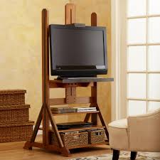 easel media stand storage room media storage and apartment ideas
