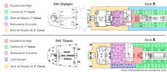 Titanic Floor Plan by 1ª Classe U2013 Titânicos Em Ação