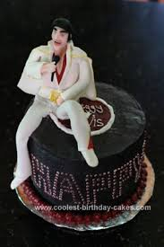 elvis cake topper coolest elvis birthday cake