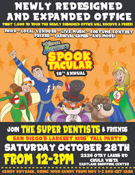 spooktacular 18th anniversary annual fall party super dentists