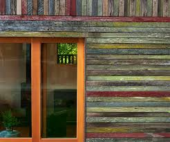 rustic and beautiful backyard micro house is built from recycled