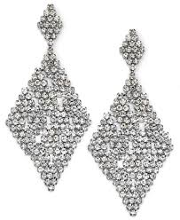 silver dangle earrings for prom macy s makes every girl shine bright this prom season business wire