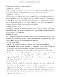 Downsizing Definition Human Resource Management Full Notes Human Resource Management