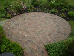 round patio stone 49 awesome circle paver patio kits pics patio design central