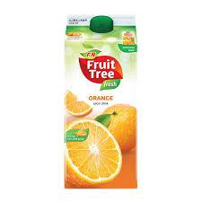 f u0026n fruit tree fresh orange juice 1 89l from redmart