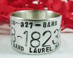 duck band wedding rings custom personalized duck band ring sted wedding ring