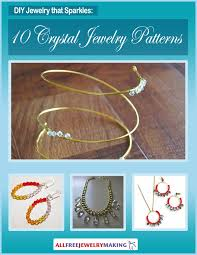 free crystal bracelet images Diy jewelry that sparkles 10 crystal jewelry patterns jpg