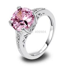 rings pink stones images 25 best rings with pink stones images pink stone jpg