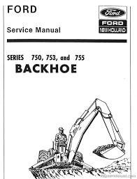 750 753 755 backhoe service manual