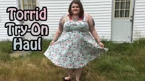 4x Plus Size Clothing Huge Torrid Plus Size Clothing Try On Haul June 2016 Youtube