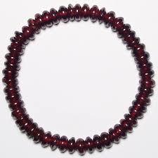 garnet bracelet images Red garnet beads bracelet earring pendant jpg