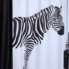 Zebra Shower Curtain by Curtain Petagadget