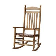Wood Rocking Chair Wood Rocking Chairs Patio Chairs The Home Depot