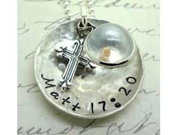 faith of a mustard seed necklace faith mustard seed necklace matthew 17 20