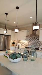 kitchen pendants lights shop allen roth vallymede 3 7 in w aged bronzemini pendant light