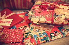 zoella festive present wrapping