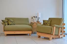 Mission Style Futon Couch Green Futon Mattress Roselawnlutheran