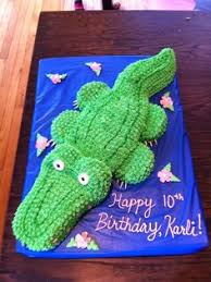 alligator cake the alligator cake was made using an 11x15 sheet