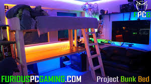 project bunk bed build log furious pc gaming hq youtube psst idolza