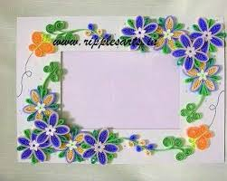 quilling designs quilled frames handcrafted frames sector 7 panchkula ripples