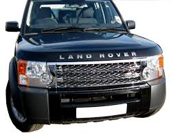 blue land rover discovery chrome supercharged style front grille upgrade kit for landrover