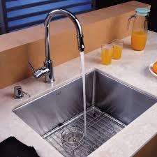 27 inch undermount kitchen sink kraus 23 inch undermount single bowl 16 gauge stainless steel