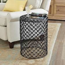 Quatrefoil Side Table Quatrefoil Black Bone Side Table
