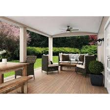 Exceptional Simple Covered Patio Designs Part 3 Exceptional by Hunter Ceiling Fans Lighting The Home Depot