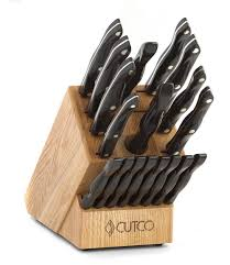 Quality Kitchen Knives Brands 8 Set With Block W Petite Chef