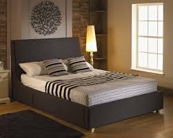 4ft Bed Frame Strata 4ft 6 Fabric Bed Frame Charcoal Beds Pinterest