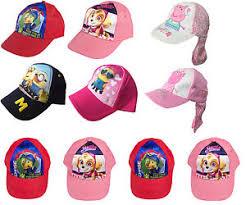 kids character hats baseball summer caps peppa pig paw patrol