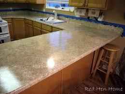 Red Kitchen Countertop - diy kitchen countertop options