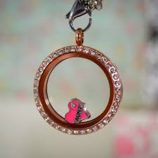 Custom Lockets Best Pink Floating Locket Products On Wanelo