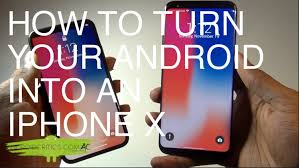 turn android into iphone how to turn your android into an iphone x android critics