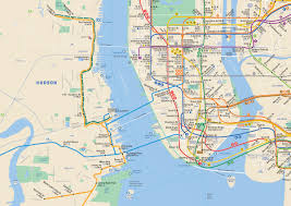 Nj Train Map New York U0026 New Jersey Subway Map