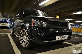 kahn land rover land rover range rover sport supercharged project kahn rs600