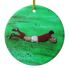 rugby tree decorations ornaments zazzle co uk