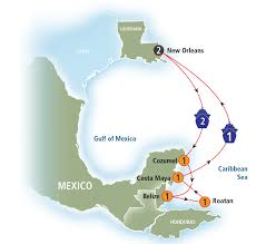 Western Caribbean Map by Norwegian Cruise Line U0027s 7 Day Western Caribbean Cruise Dawn With