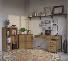 Rustic File Cabinet Home Office Furniture Set Rustic Desk Lateral File Cabinet
