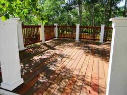 wood deck for outdoor decorating ideas newest en home design