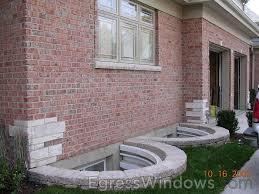 Basement Well Windows - pavers around egress window our home egress windows pinterest
