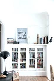 Small Bookcases With Glass Doors Billy Bookcase Doors Mh5142testing Info