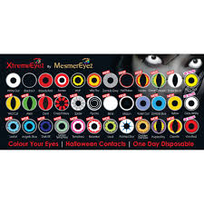 color contact lenses halloween